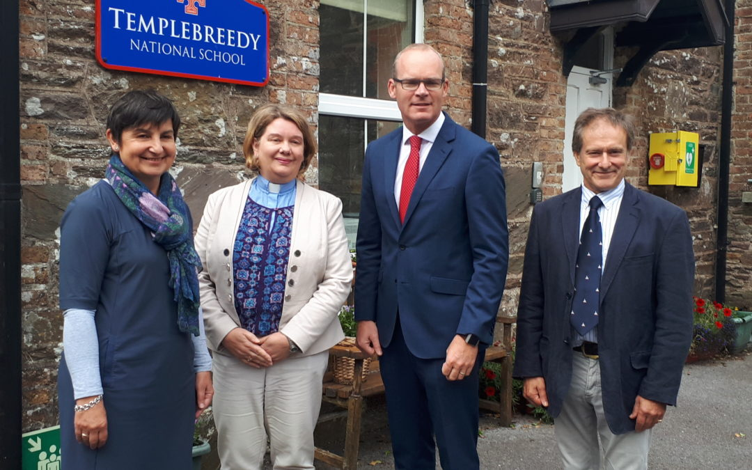 Tánaiste Simon Coveney visits Templebreedy